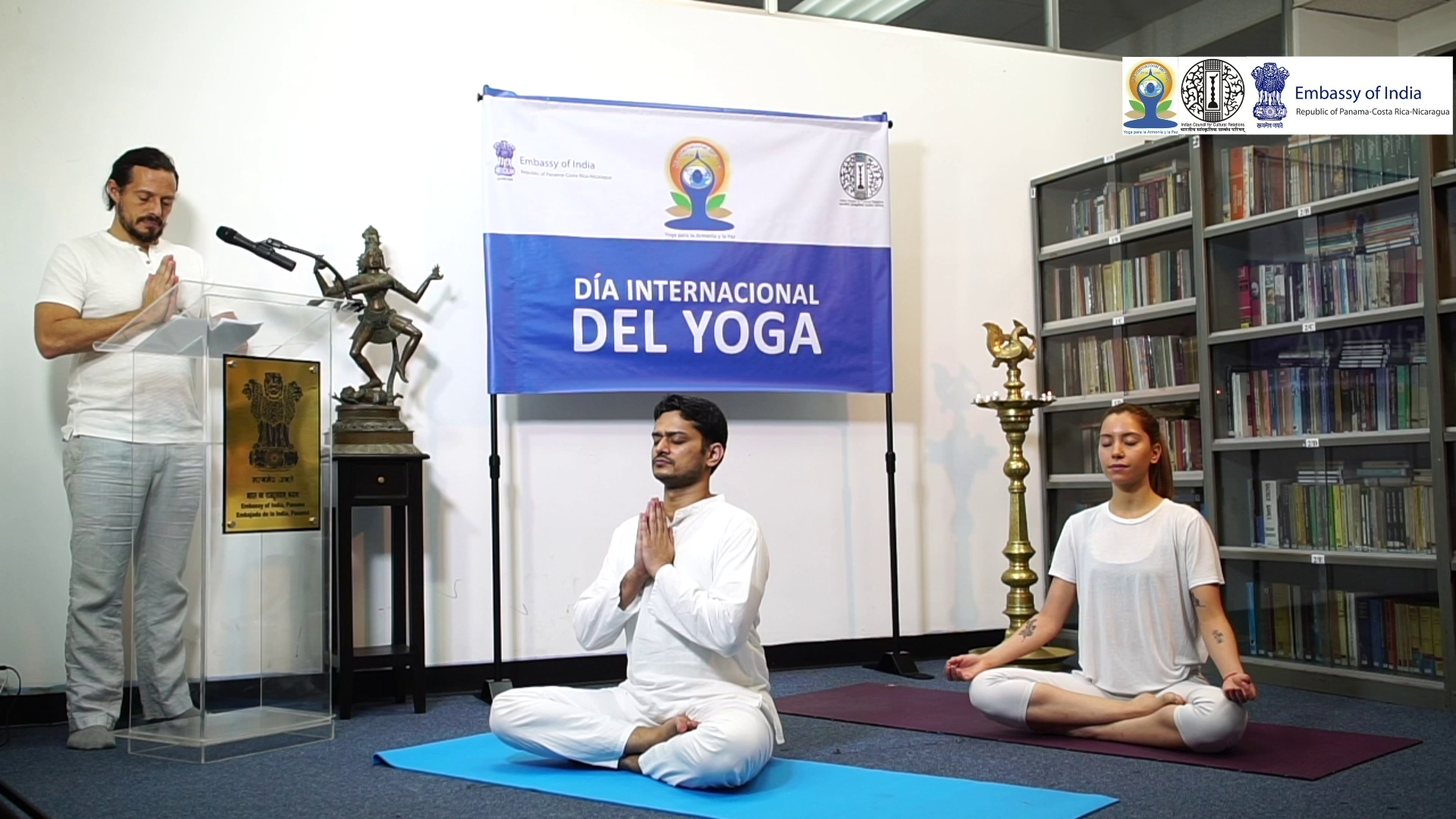 Common Yoga Protocol 01 (Panama - 21-06-2020- 9.20-10.30am)