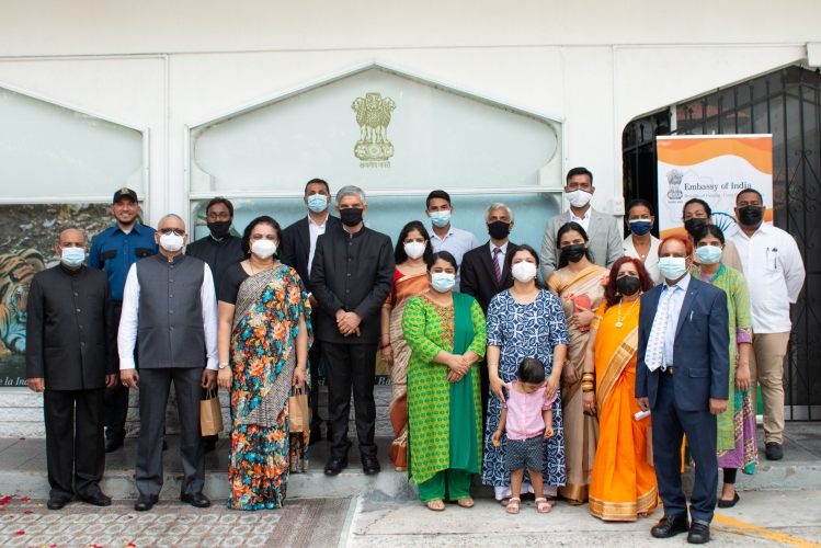 Celebration of 74th Anniversary of India's Independence Day 2021