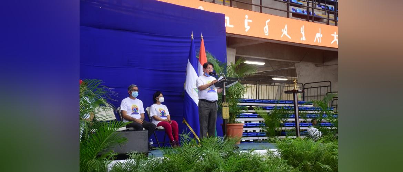 Celebration of 7th International Day of Yoga June 26, 2021 at Nicaragua