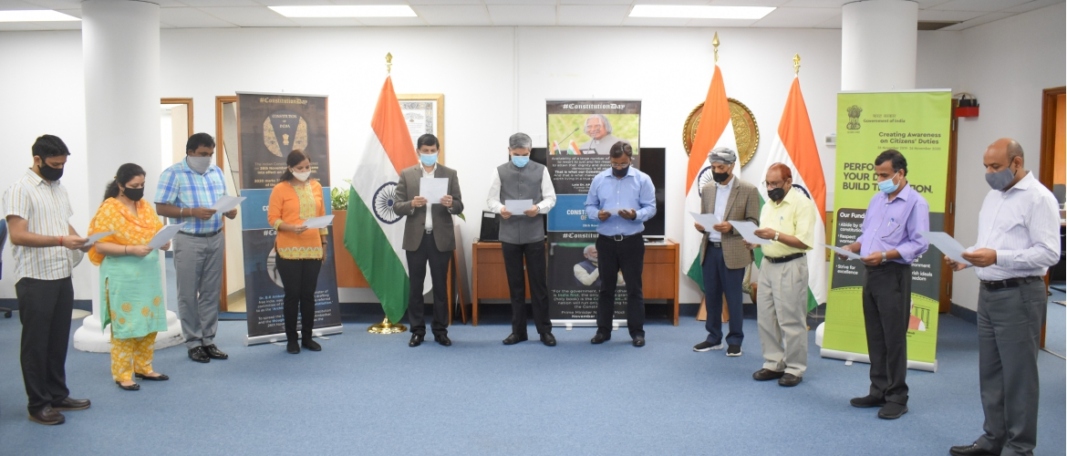 Celebration of the Constitution Day 2020
