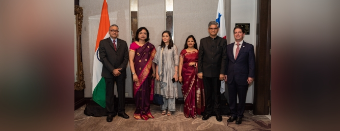 Reception held on 27th Jan. 2020 on the occasion of the 71st Republic Day of India