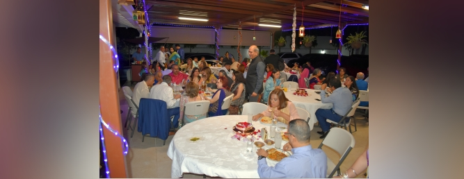 """Floral Holi Milan""  Dinner at the Embassy Residence on Saturday"